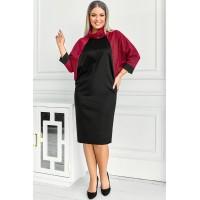 Женское стильное классическое платье Викель зигзаг